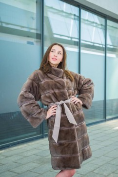 Mink Fur Coat, double-sided